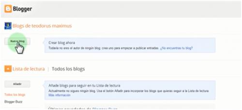 Cómo hacer un blog de Blogger