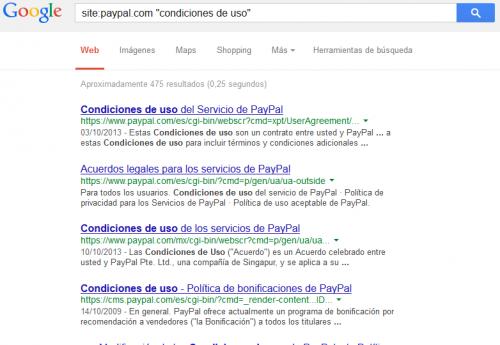 Cómo buscar con Google dentro de una página