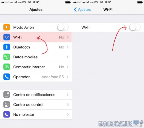 configurar_wifi_iphone_5c_5s