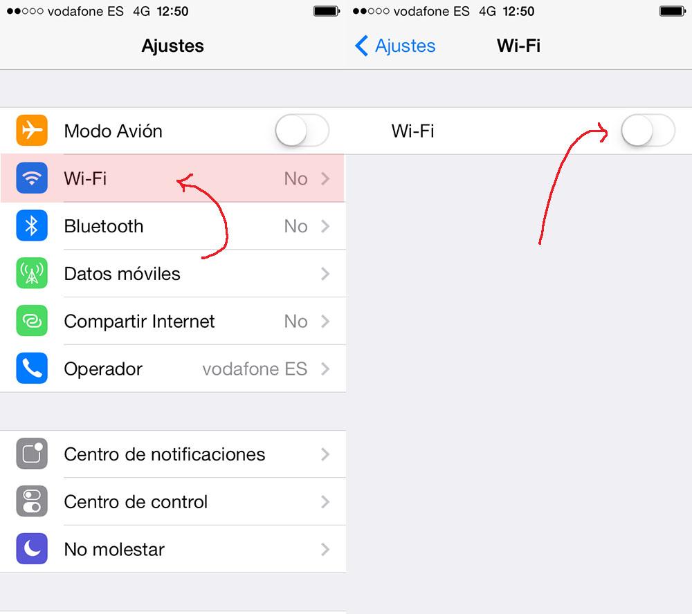 conectar wifi gratis iphone