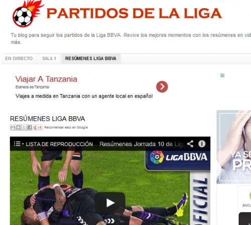 Cómo ver la liga española por Internet