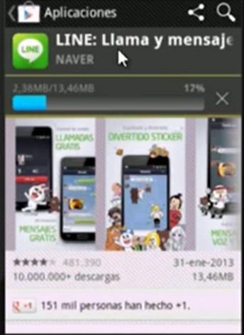 Descargar Line para Android