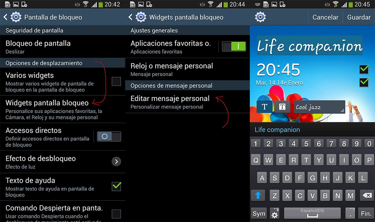 09c6843466b Configurar accesos en pantalla de bloqueo en Samsung Galaxy