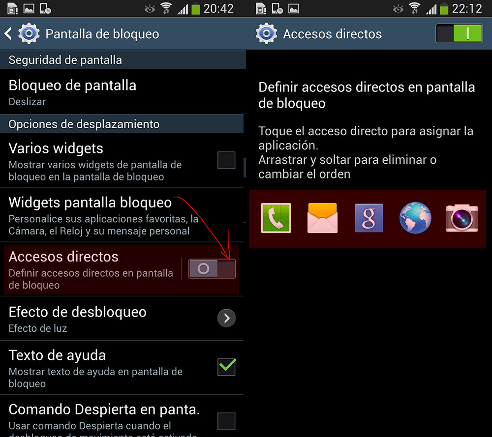 dcef22985c2 pantalla_bloqueo_samsung_galaxy_4. Para cambiar el fondo de la pantalla ...