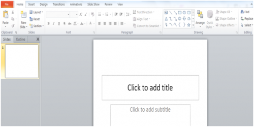 Empezar a utilizar PowerPoint