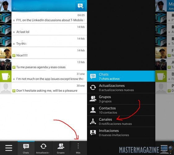 Cómo crear y editar tu BBM Channel con BlackBerry 10