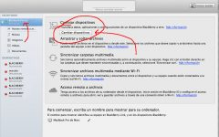 Cambiar de dispositivo BlackBerry 10 con BlackBerry Link para Mac