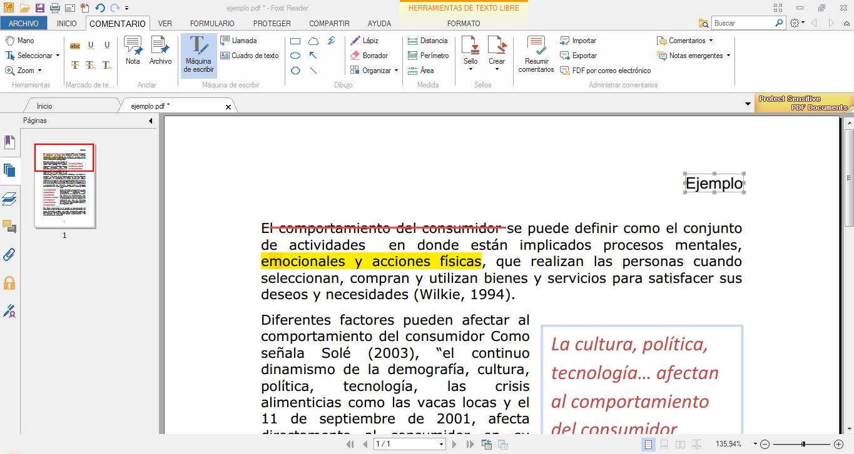 Editar pdf con foxit reader definici n for De donde sacan el marmol