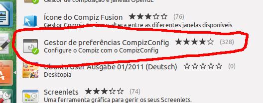 Aplicando transparencias en Ubuntu
