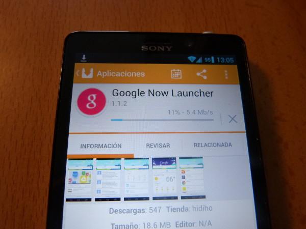 Instalando Google Now