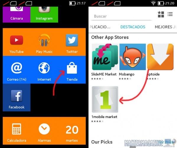Cómo cambiar la interfaz del Nokia X