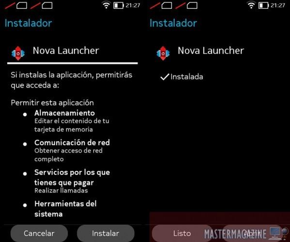 instalar_launcher_nokiaX_3