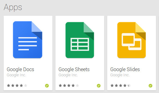Las apps 'stand-alone' de Google