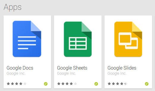 Las apps 'stand-alone' de Google