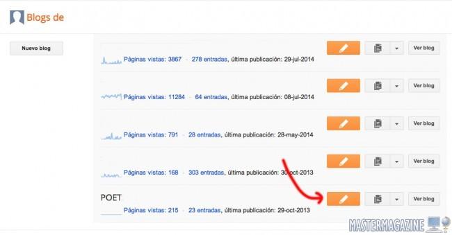 Cómo usar y publicar entradas con Blogger