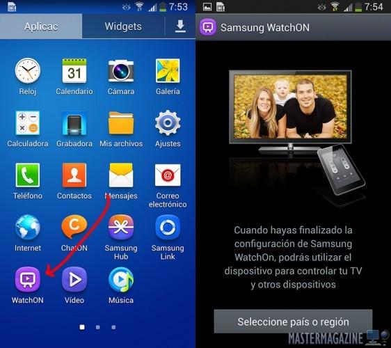 Como utilizar tu Galaxy S5 como mando a distancia universal