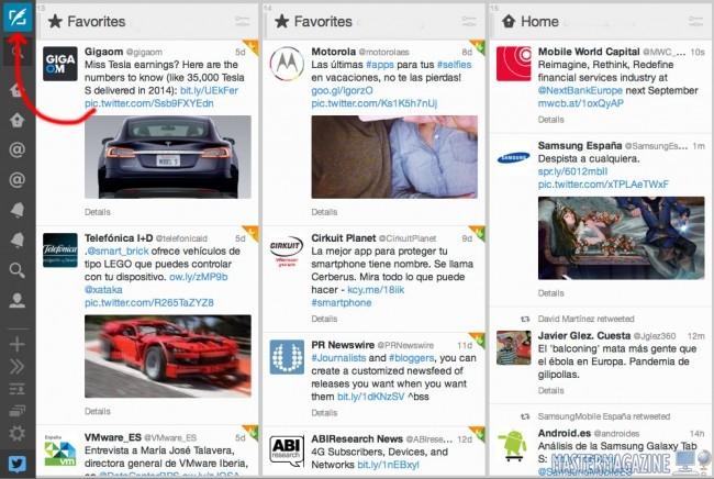 Cómo publicar y programar un tweet con Tweetdeck