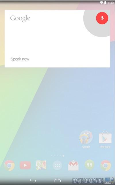 Uso de la búsqueda por voz de Google
