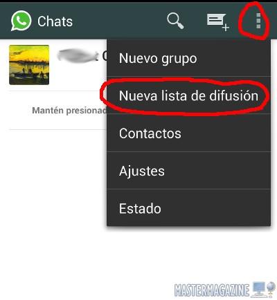 Cómo enviar mensajes de WhatsApp a todos nuestros contactos