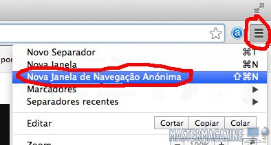 Navegación privada en Chrome y Firefox