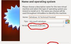 Instalar Windows 10 Technical Preview en VirtualBox