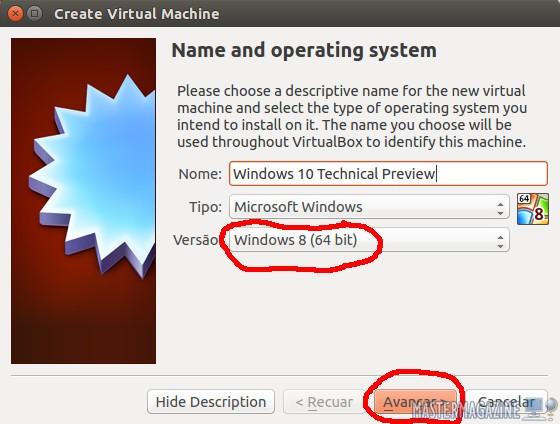 Instalar Windows 10 Technical Preview en VirtualBox