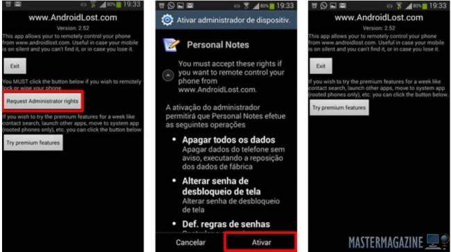 Cómo Usar Android Lost, Instalar y Configurar