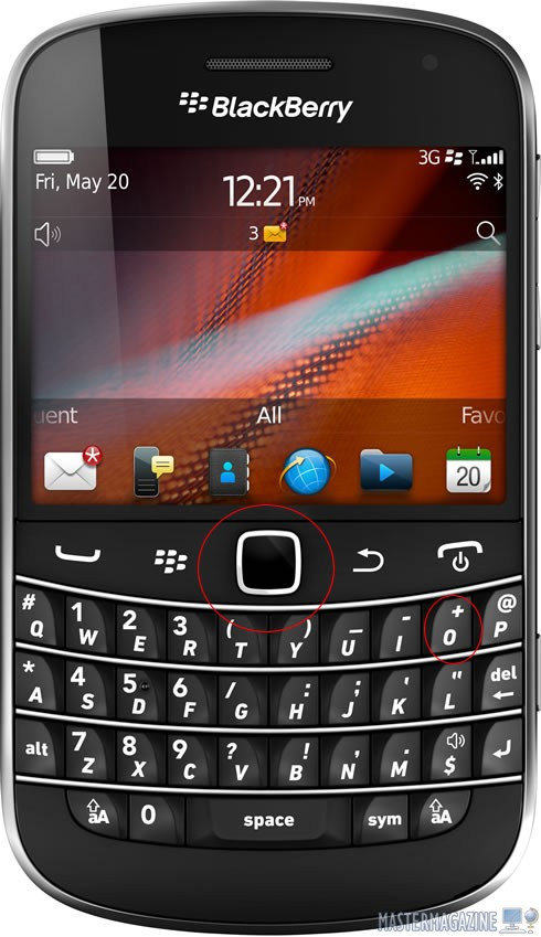 blackberry-acentos