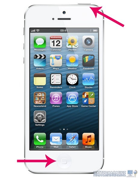 Cómo Hacer Una Captura De Pantalla En Iphone 5s Y 6