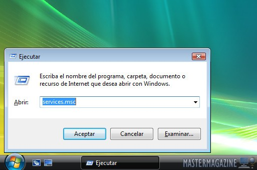 Imagen Windows R services msc