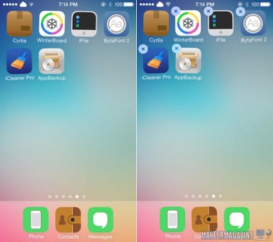 Cómo Eliminar una Aplicación del iPhone