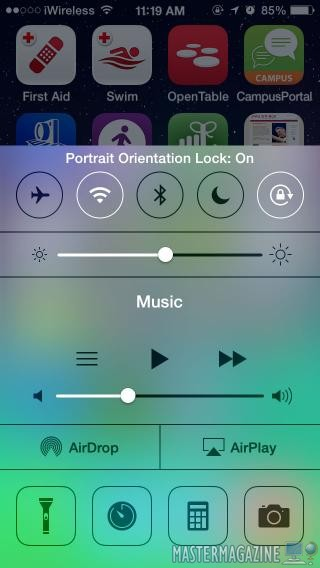 Cómo Activar/Desactivar la Orientación de Pantalla del iPhone