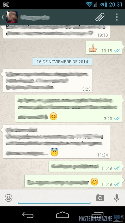 Cómo saber fecha y hora en que se leen tus mensajes de WhatsApp