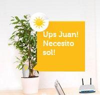 El Sensor permite a las plantas comunicarse con el usuario.