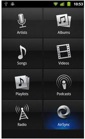 Aplicación para Android compatible DLNA.