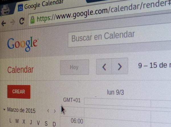 Cómo Copiar las citas de calendario de Google a otro