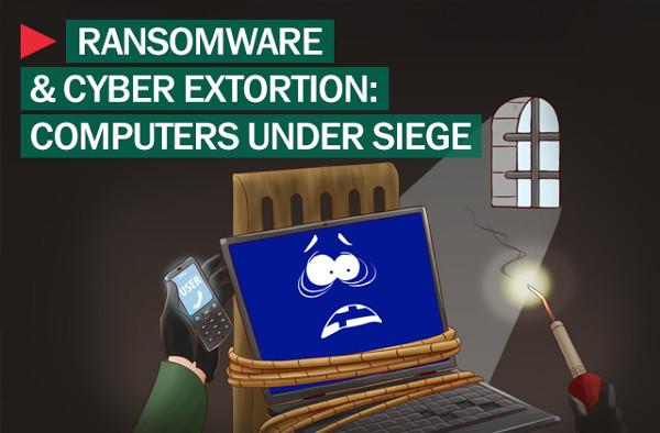 Una imagen que ejemplifica muy bien lo que es el secuestro de archivos. Por Kaspersky Lab, empresa especialista en seguridad informática