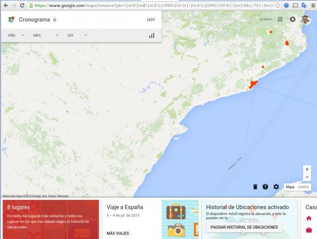 ¿Donde estabas ese día? Google Maps te lo dice