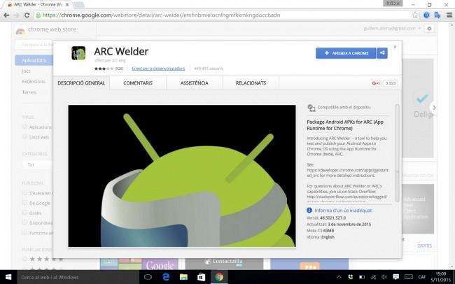 Aplicaciones Android en la computadora