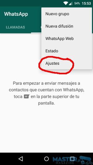 WhatsApp: hacer copia de seguridad en la nube