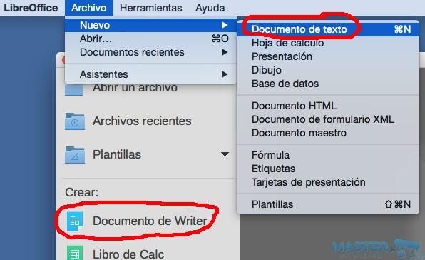 Convertir el texto a mayúsculas o minúsculas gracias a LibreOffice