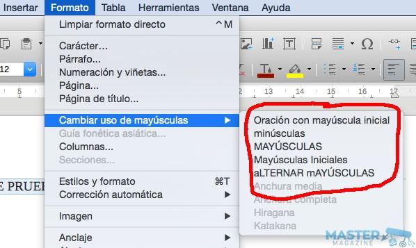 mayusculas_minusculas_LibreOffice_4