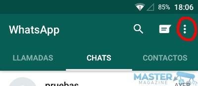 Cambiar tamaño de letra en WhatsApp