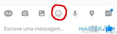 Añadir emojis en Facebook Messenger