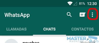 Personalizar el fondo de conversaciones en WhatsApp