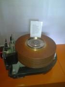 Uno de los primeros discos duros
