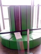 Un Cray, supercomputadora de los ochenta. Cualquier computadora de hoy le supera en potencia