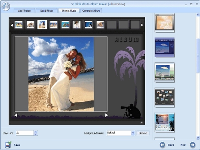 Programa para crear presentaciones de fotografías