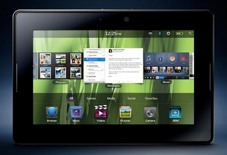 RIM PlayBook va a poder ejecutar software de Android