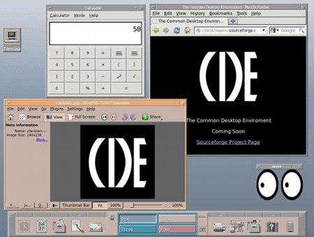 Aquellos maravillosos años: CDE, software libre